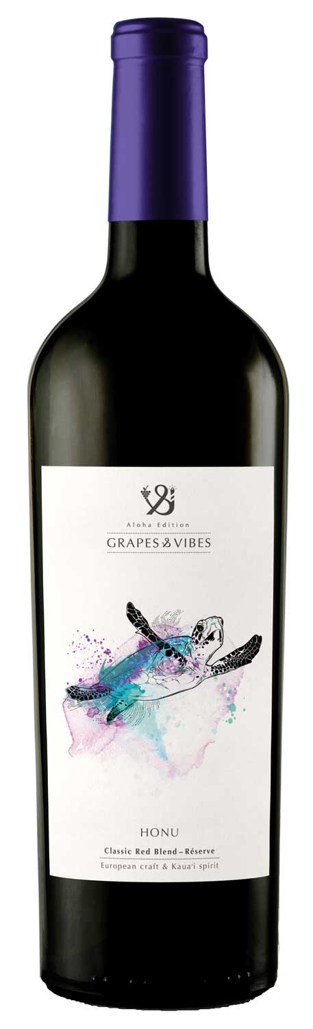 turtle-honu-wine-grapes-vibes-aloha